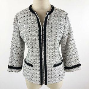 Coldwater Creek Women's Tweed Blazer/Jacket